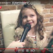 Звезды вокальной студии «Граффити» дли интервью корреспондентам РЕВЮ ТВ