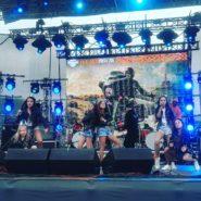 Концертный состав «Ревю» выступил на закрытии мотосезона Harley-Davidson