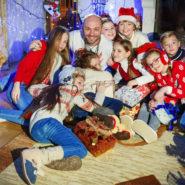 Вчера прошли съемки клипа на Рождественскую песню!